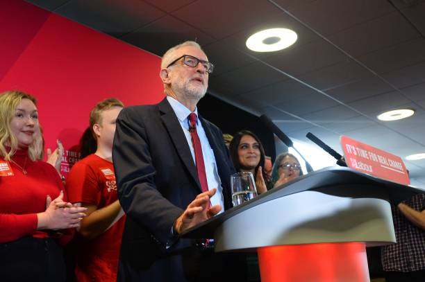GBR: Jeremy Corbyn Announces Labour's Environment Policies
