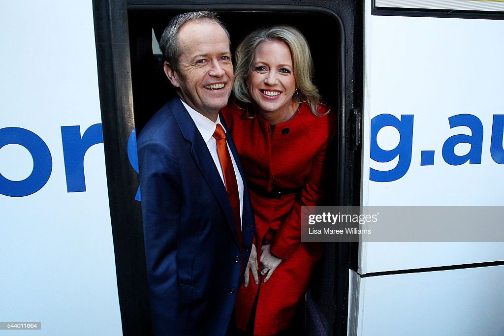 Bill Shorten Campaigns On Election Day Eve