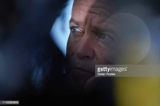 Opposition Leader Bill Shorten is seen during a news conference on April 18 2019 in Darwin Australia Mr Shorten today announced a Labor Government...