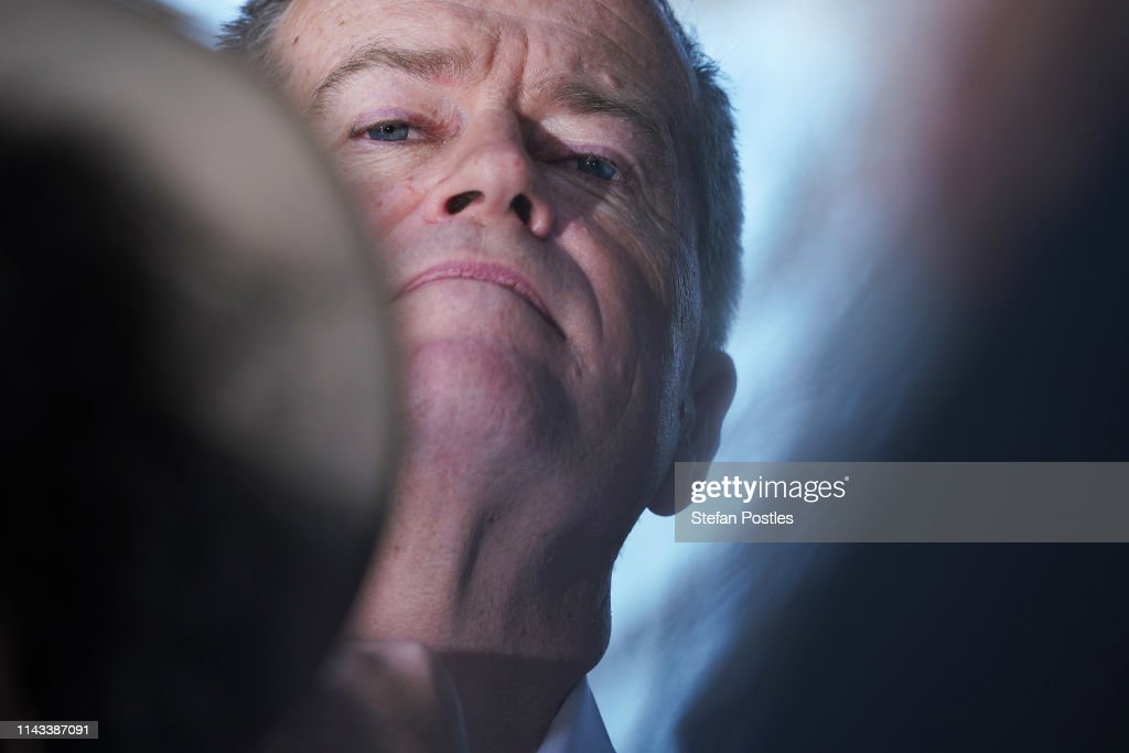 AUS: Bill Shorten Campaigns In Darwin