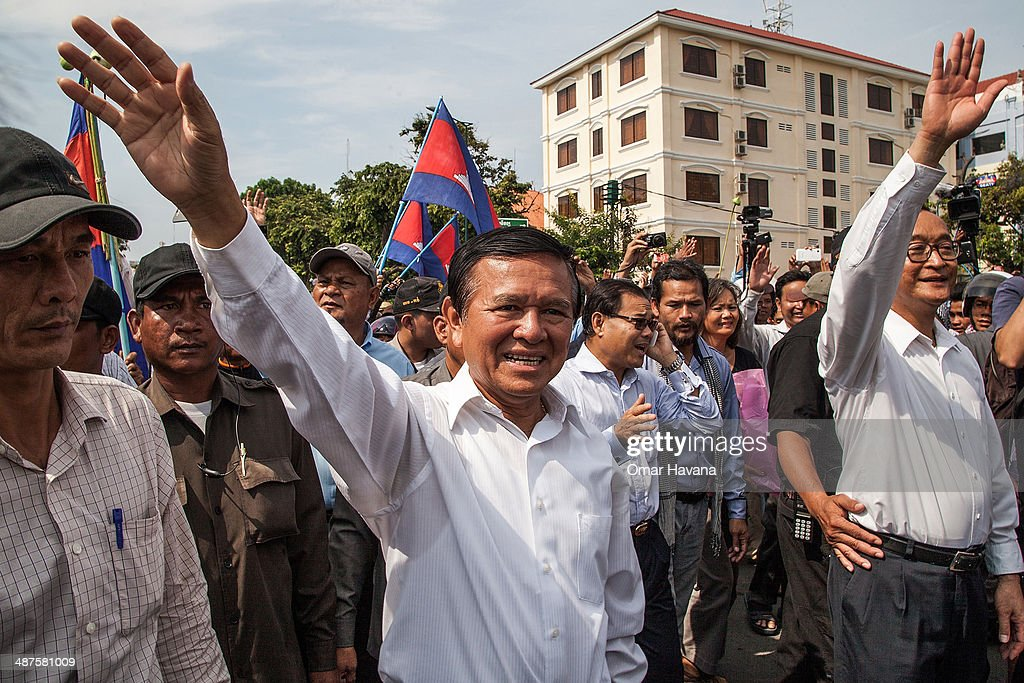 Labor Day Protests Held In Cambodia