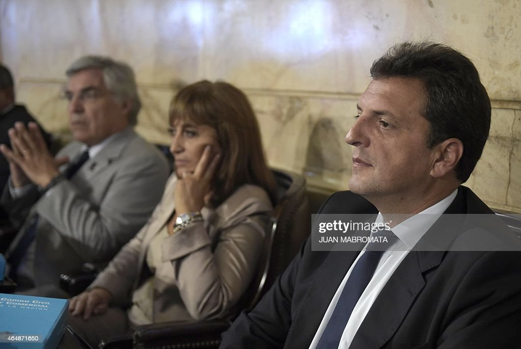 ARGENTINA-CONGRESS-FERNANDEZ-MASSA : News Photo