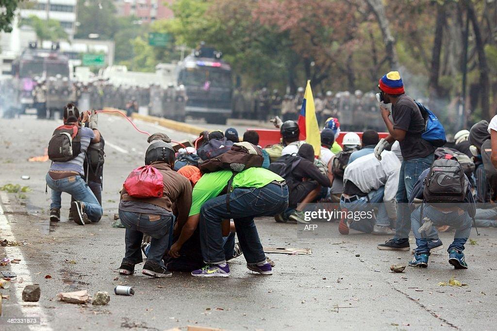 VENEZUELA-POLITICS-PROTEST : News Photo
