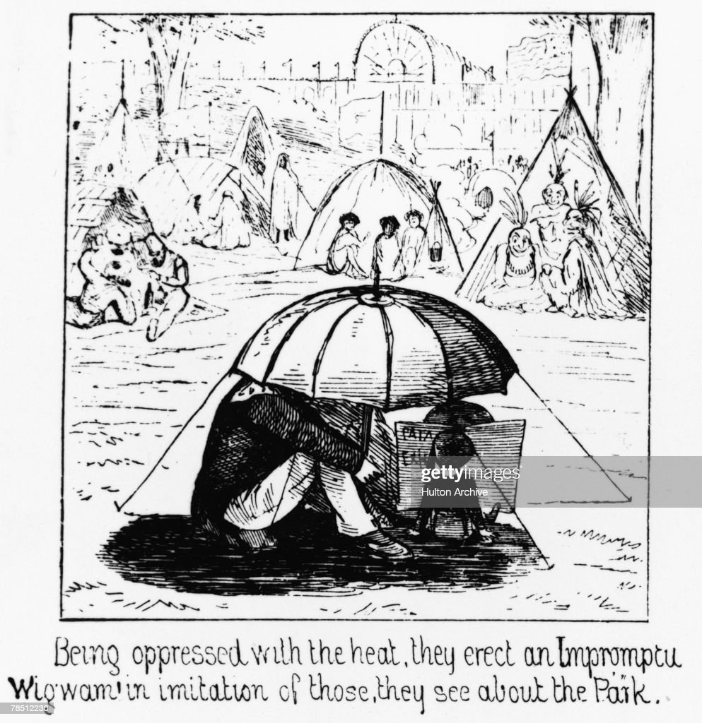 Home Made Wigwam Pictures | Getty Images
