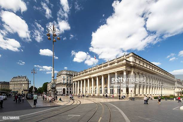 opéra national de bordeaux - grand-théâtre - ボルドー ストックフォトと画像