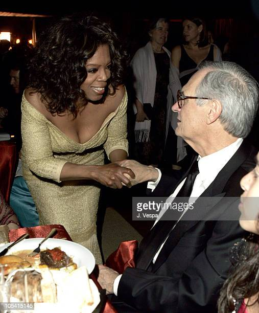 Oprah Winfrey and Alan Alda during The 77th Annual Academy Awards Governors Ball at Kodak Theatre in Hollywood California United States