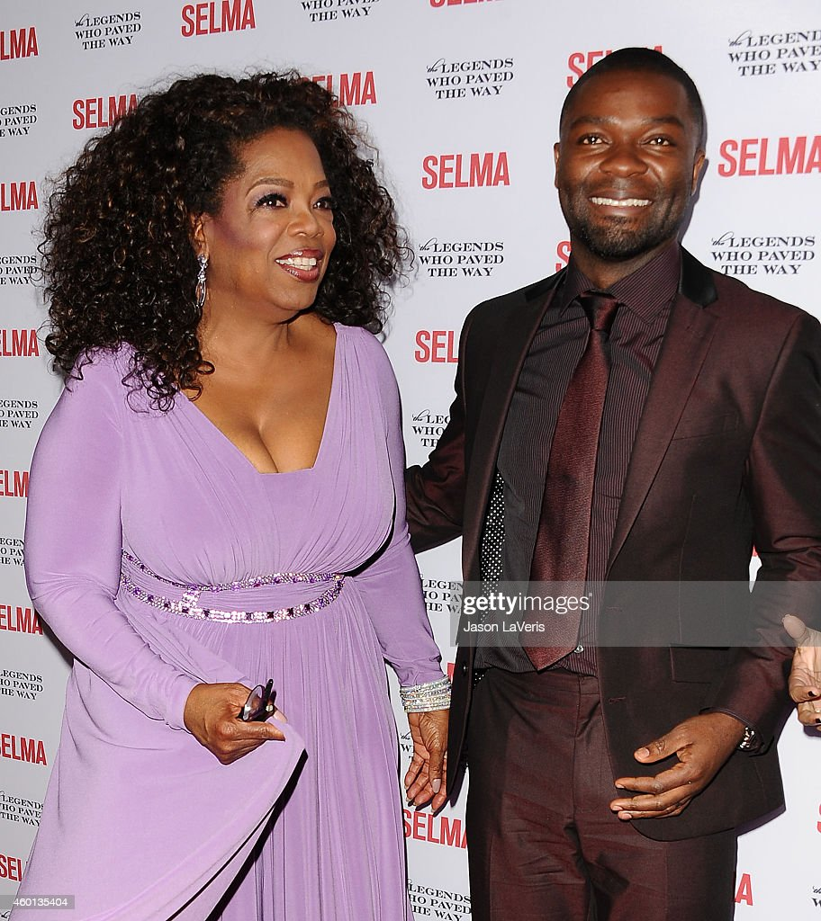Oprah Winfrey and David Oyelowo attend the 'Selma' and the Legends Who Paved the Way gala at Bacara Resort on December 6, 2014 in Goleta, California.