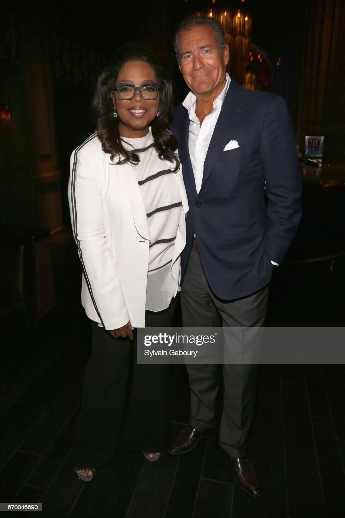 Oprah Winfrey and Richard Plepler attend 'The Immortal Life Of Henrietta Lacks' New York Premiere - After Party at TAO Downtown on April 18, 2017 in New York City.