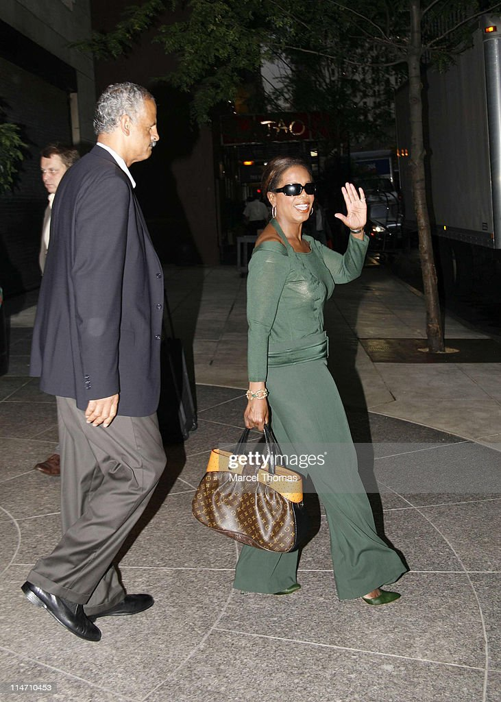 Oprah Winfrey and Steadman Graham Sighting - September 24, 2006