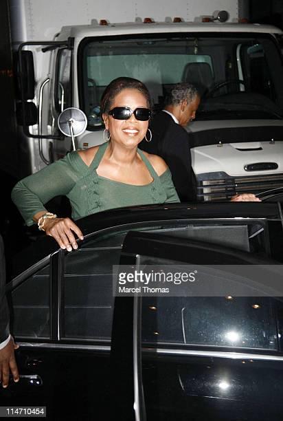Oprah Winfrey and Steadman Graham during Oprah Winfrey and Steadman Graham Sighting - September 24, 2006 at Manhattan in New York City, New York,...