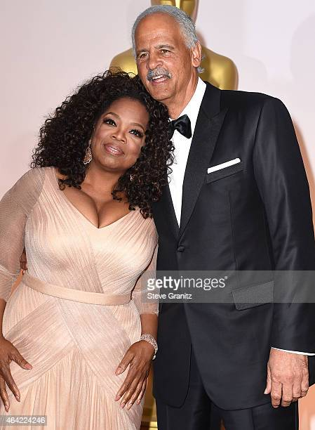 Oprah Winfrey and Stedman Graham arrives at the 87th Annual Academy Awards at Hollywood & Highland Center on February 22, 2015 in Hollywood,...