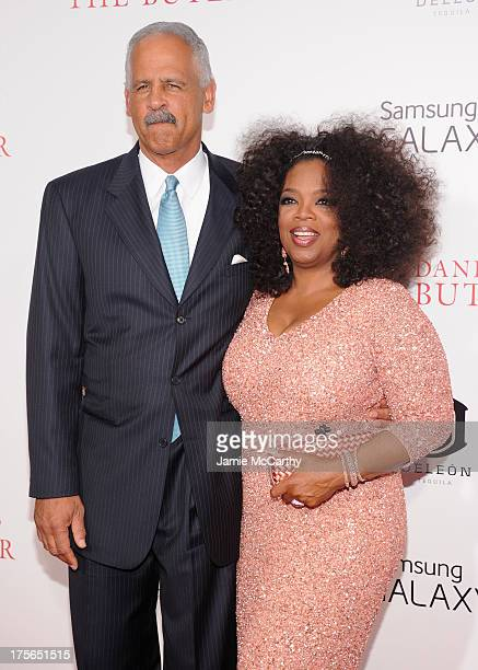 """Oprah Winfrey and Stedman Graham attend Lee Daniels' """"The Butler"""" New York Premiere at Ziegfeld Theater on August 5, 2013 in New York City."""