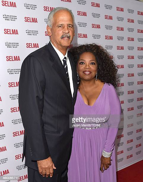 Oprah Winfrey and Stedman Graham attend the 'Selma' and the Legends Who Paved the Way Gala at Bacara Resort on December 6, 2014 in Goleta, California.