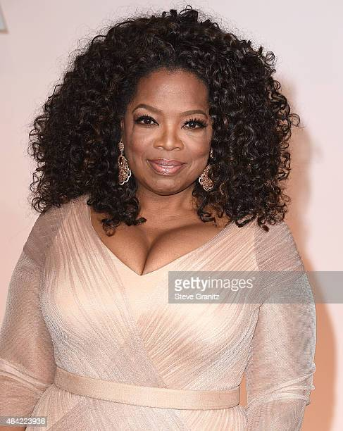 Oprah Winfrey arrives at the 87th Annual Academy Awards at Hollywood Highland Center on February 22 2015 in Hollywood California