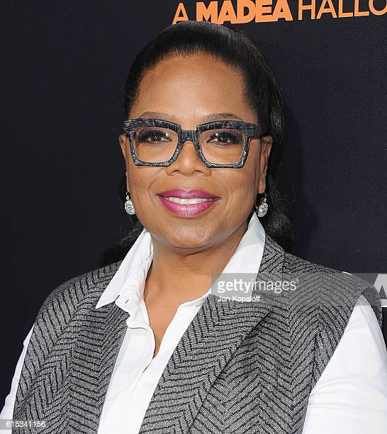 Oprah Winfrey arrives at the Los Angeles Premiere 'Boo A Madea Halloween' at ArcLight Cinemas Cinerama Dome on October 17 2016 in Hollywood California