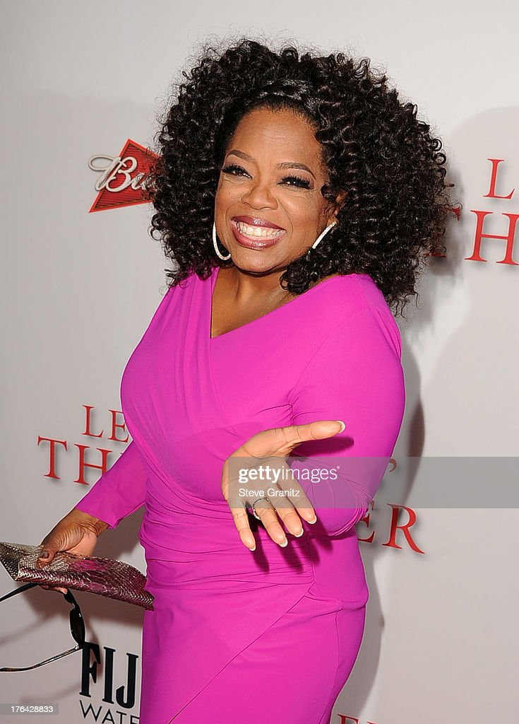 Oprah Winfrey arrives at the Los Angeles premiere of 'Lee Daniels' The Butler' at Regal Cinemas L.A. Live on August 12, 2013 in Los Angeles, California.