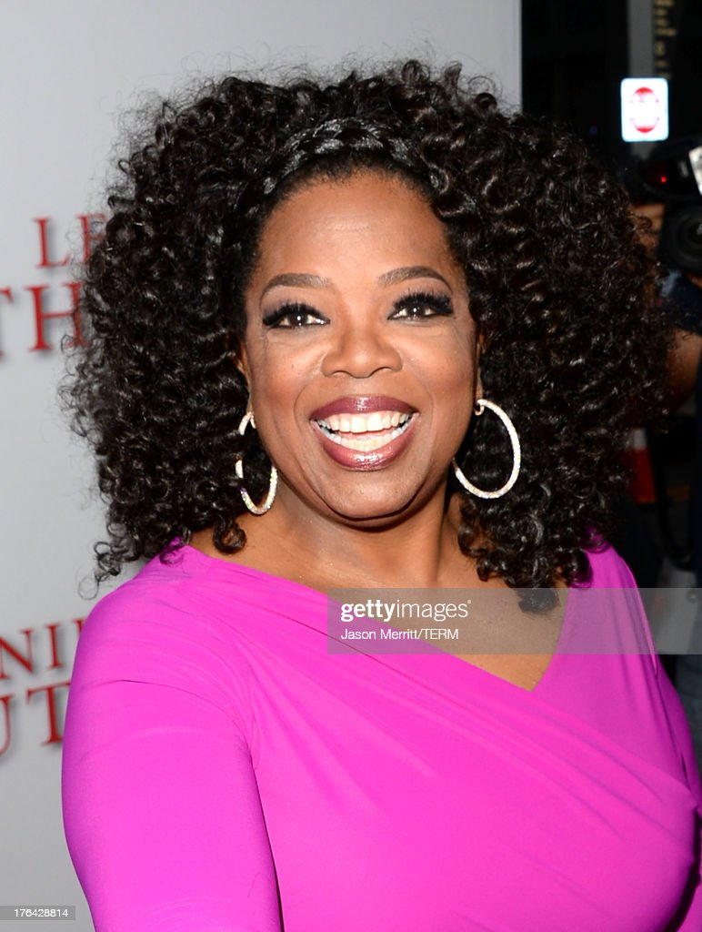 Oprah Winfrey arrives at the premiere of The Weinstein Company's 'Lee Daniels' The Butler' at Regal Cinemas L.A. Live on August 12, 2013 in Los Angeles, California.