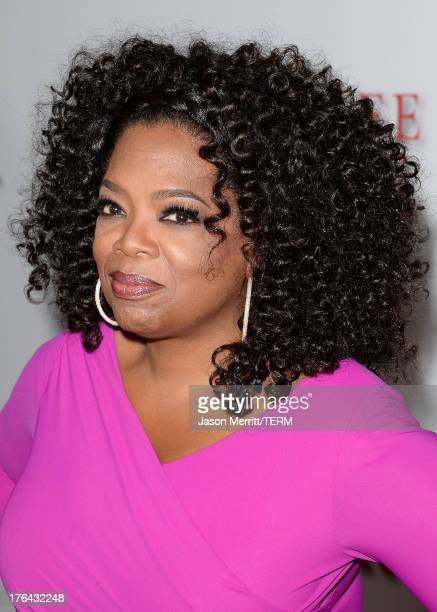 """Oprah Winfrey arrives at the premiere of The Weinstein Company's """"Lee Daniels' The Butler"""" at Regal Cinemas L.A. Live on August 12, 2013 in Los..."""