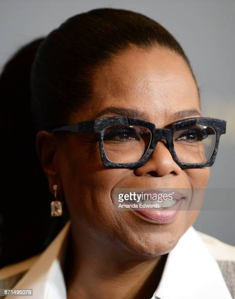 Oprah Winfrey arrives at the taping of 'Queen Sugar AfterShow' at OWN Oprah Winfrey Network on November 7 2017 in West Hollywood California
