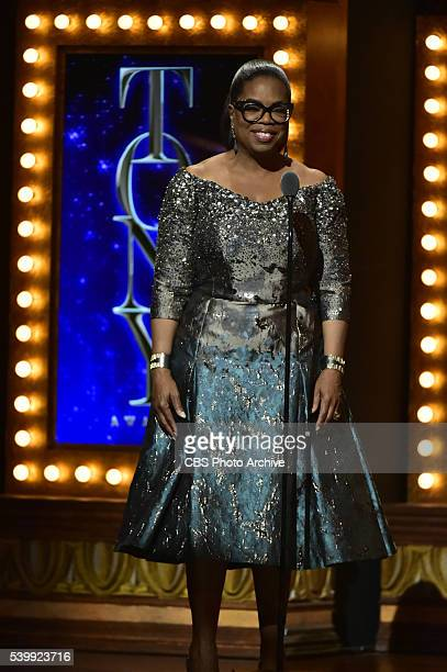 Oprah Winfrey at THE 70TH ANNUAL TONY AWARDS live from the Beacon Theatre in New York City Sunday June 12 on the CBS Television Network