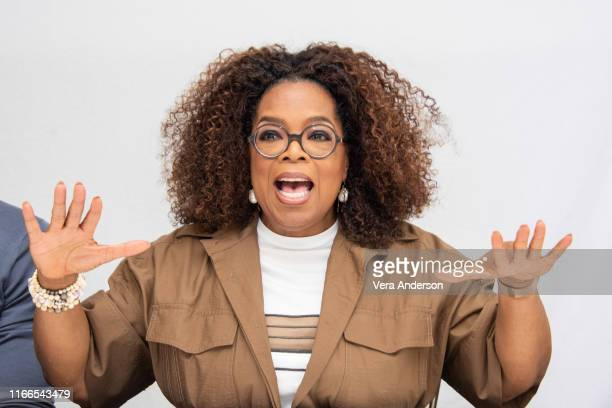 Oprah Winfrey at the David Makes Man Press Conference at the Four Seasons Hotel on August 06 2019 in Beverly Hills California