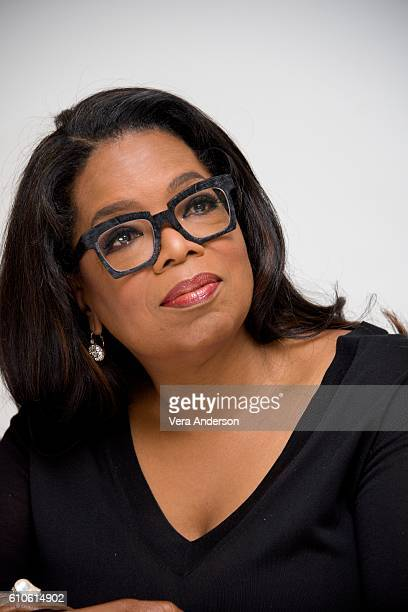 Oprah Winfrey at the 'Greenleaf' Press Conference at the Four Seasons Hotel on September 26 2016 in Beverly Hills California