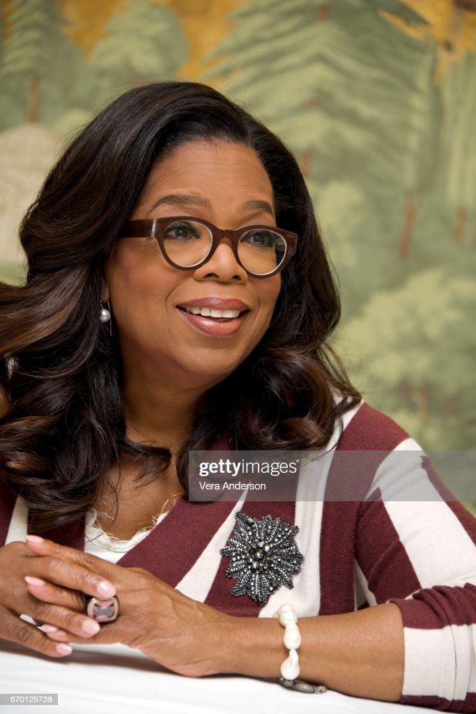 Oprah Winfrey at 'The Immortal Life of Henrietta Lacks' Press Conference at the London Hotel on April 18, 2017 in New York City.