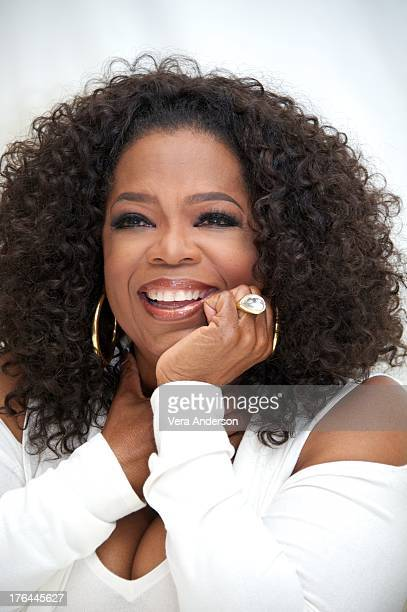 Oprah Winfrey at the 'Lee Daniels' The Butler' Press Conference at the Four Seasons Hotel on August 12 2013 in Beverly Hills California