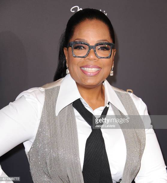 Oprah Winfrey attends a taping of 'Queen Sugar AfterShow' at OWN on November 7 2017 in West Hollywood California