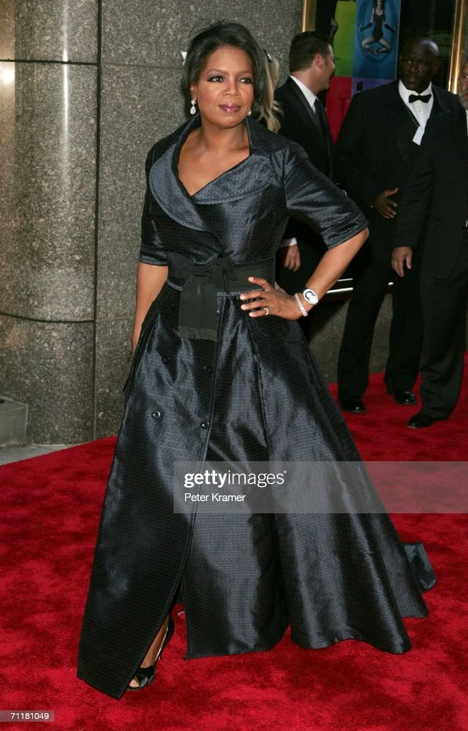 Oprah Winfrey attends the 60th Annual Tony Awards at Radio City Music Hall June 11, 2006 in New York City.