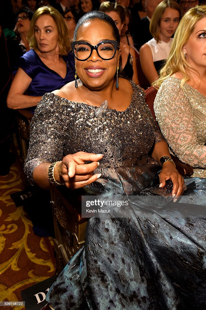 Oprah Winfrey attends the 70th Annual Tony Awards at The Beacon Theatre on June 12, 2016 in New York City.