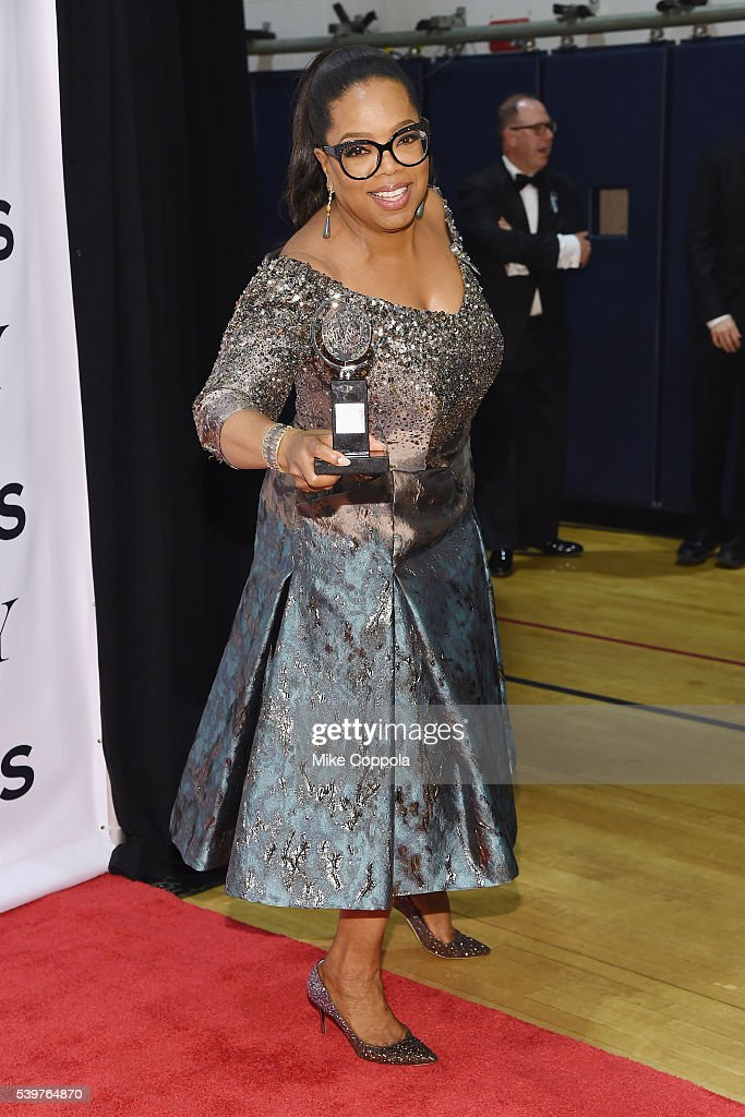 Oprah Winfrey attends the 70th Annual Tony Awards - Press Room at Beacon Theatre on June 12, 2016 in New York City.