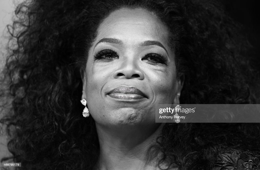 Oprah Winfrey attends the EE British Academy Film Awards 2014 at The Royal Opera House on February 16, 2014 in London, England.