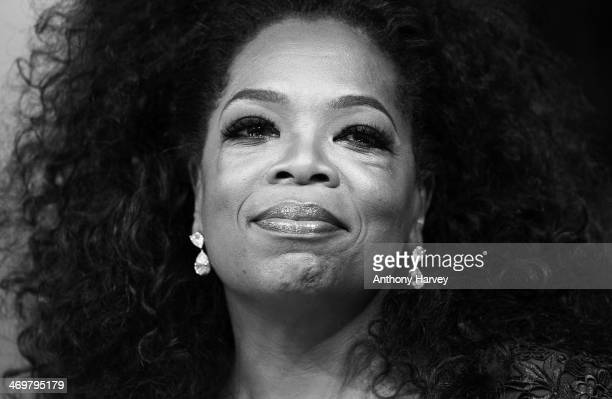 Oprah Winfrey attends the EE British Academy Film Awards 2014 at The Royal Opera House on February 16 2014 in London England