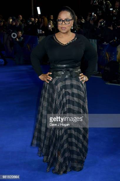 Oprah Winfrey attends the European Premiere of 'A Wrinkle In Time' at BFI IMAX on March 13 2018 in London England