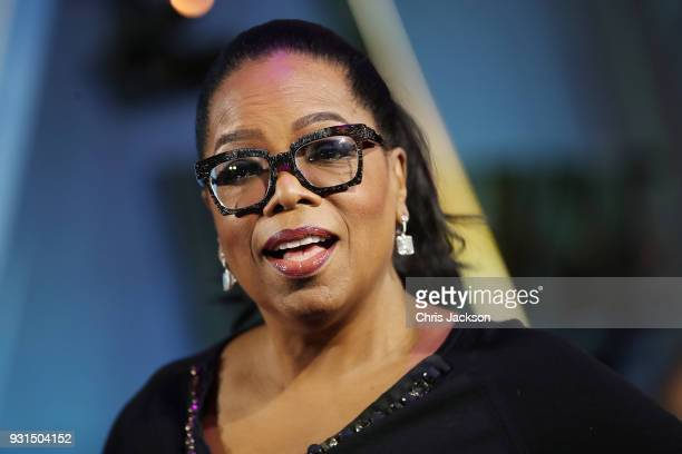 Oprah Winfrey attends the European premiere of Disney's 'A Wrinkle In Time' at BFI IMAX on March 13 2018 in London England