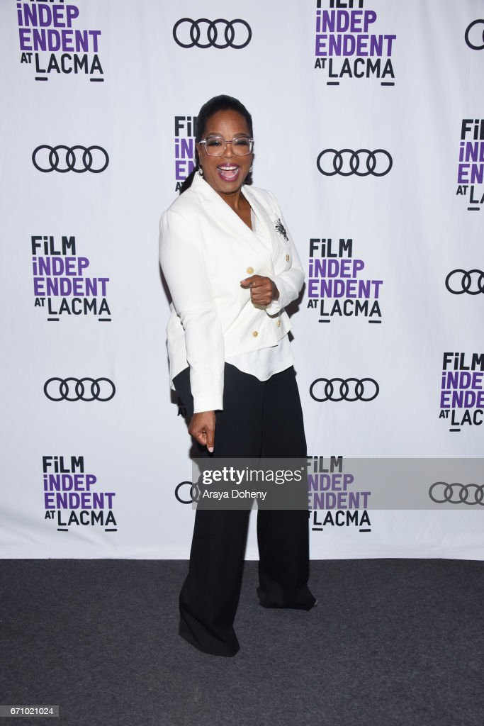 Oprah Winfrey attends the Film Independent at LACMA Special Screening and Q&A of 'The Life Of Henrietta Lacks' at Bing Theatre At LACMA on April 20, 2017 in Los Angeles, California.