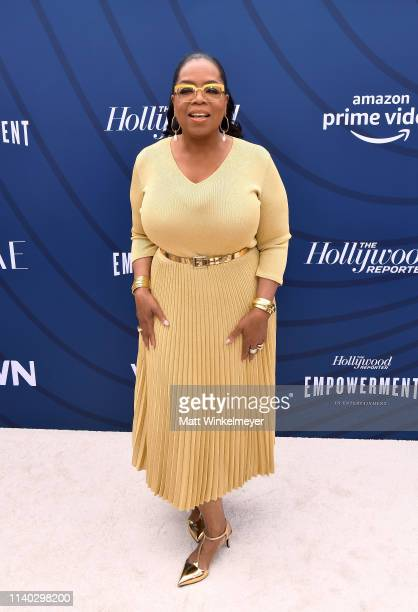 Oprah Winfrey attends The Hollywood Reporter's Empowerment In Entertainment Event 2019 at Milk Studios on April 30 2019 in Los Angeles California
