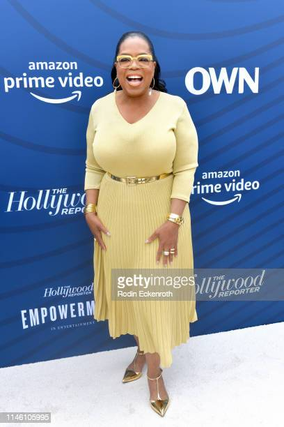 Oprah Winfrey attends The Hollywood Reporter's Empowerment In Entertainment Event 2019 at Milk Studios on April 30 2019 in Hollywood California