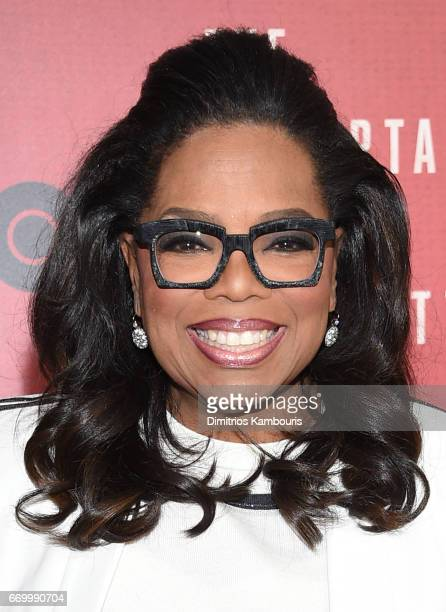 Oprah Winfrey attends 'The Immortal Life of Henrietta Lacks' premiere at SVA Theater on April 18 2017 in New York City