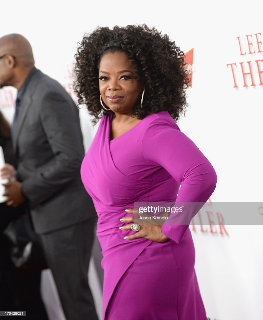 Oprah Winfrey attends the Los Angeles premiere of 'Lee Daniels' The Butler' at Regal Cinemas L.A. Live on August 12, 2013 in Los Angeles, California.