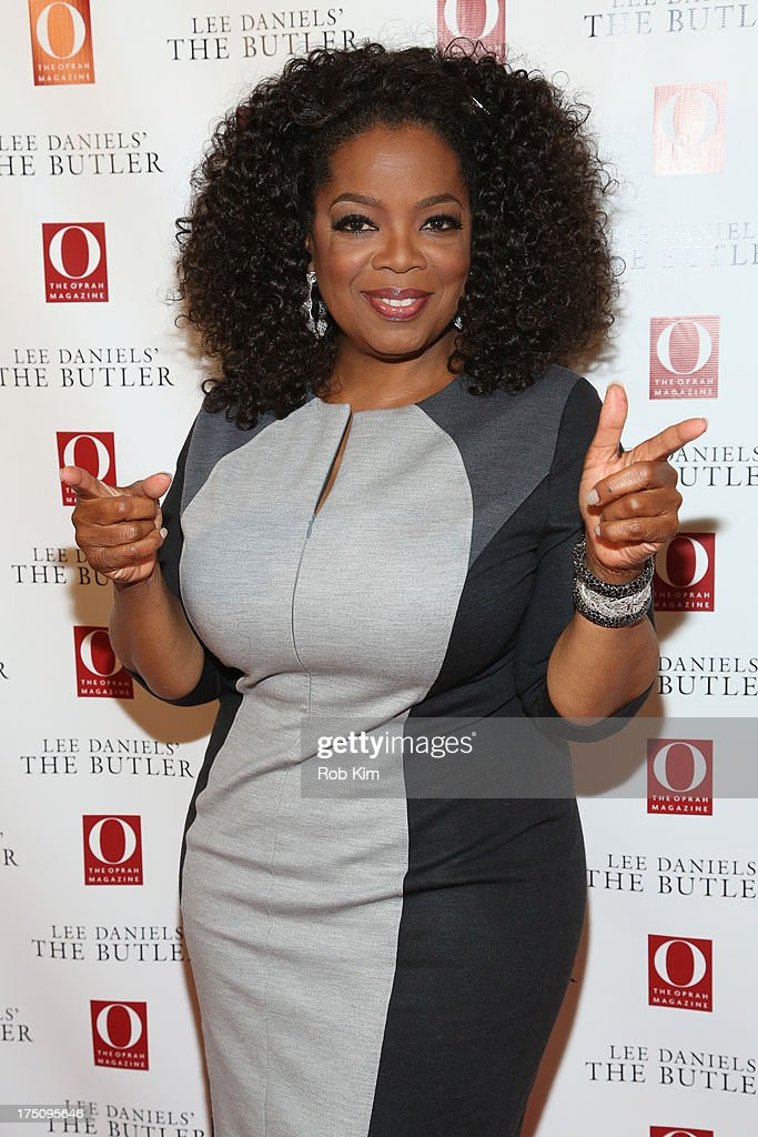 Oprah Winfrey attends the O, The Oprah Magazine's special advance screening of 'Lee Daniels' The Butler' at The Hearst Tower on July 31, 2013 in New York City.