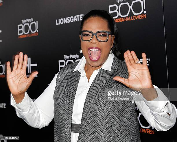 Oprah Winfrey attends the premiere of 'Boo A Madea Halloween' at ArcLight Cinemas Cinerama Dome on October 17 2016 in Hollywood California