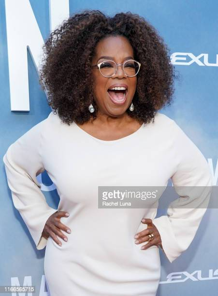 Oprah Winfrey attends the premiere of OWN's David Makes Man at NeueHouse Hollywood on August 06 2019 in Los Angeles California