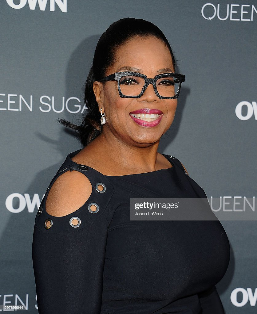 Oprah Winfrey attends the premiere of 'Queen Sugar' at Warner Bros. Studios on August 29, 2016 in Burbank, California.