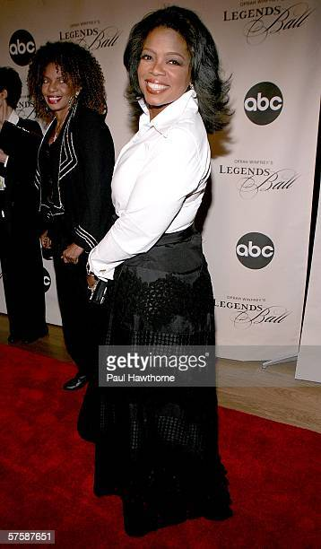 Oprah Winfrey attends the screening of 'Oprah Winfrey's Legends Ball' at JP Morgan Library May 11 2006 in New York City