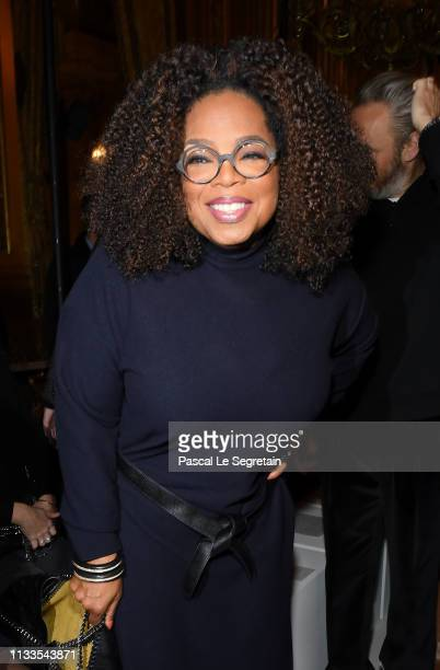 Oprah Winfrey attends the Stella McCartney show as part of the Paris Fashion Week Womenswear Fall/Winter 2019/2020 on March 04 2019 in Paris France