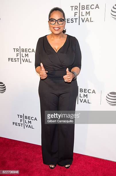 Oprah Winfrey attends Tribeca Tune In 'Greenleaf' Screening during 2016 Tribeca Film Festival at John Zuccotti Theater at BMCC Tribeca Performing...