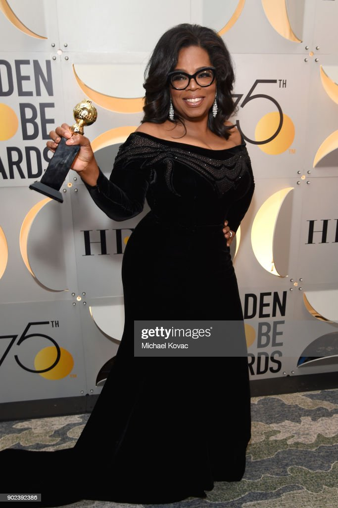 Moet & Chandon At The 75th Annual Golden Globe Awards - Backstage : News Photo