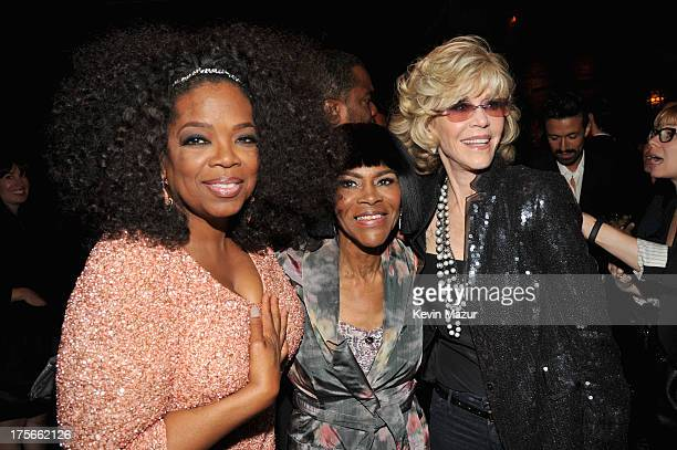 Oprah Winfrey Cicely Tyson and Jane Fonda attend Lee Daniels' 'The Butler' New York premiere hosted by TWC DeLeon Tequila and Samsung Galaxy on...